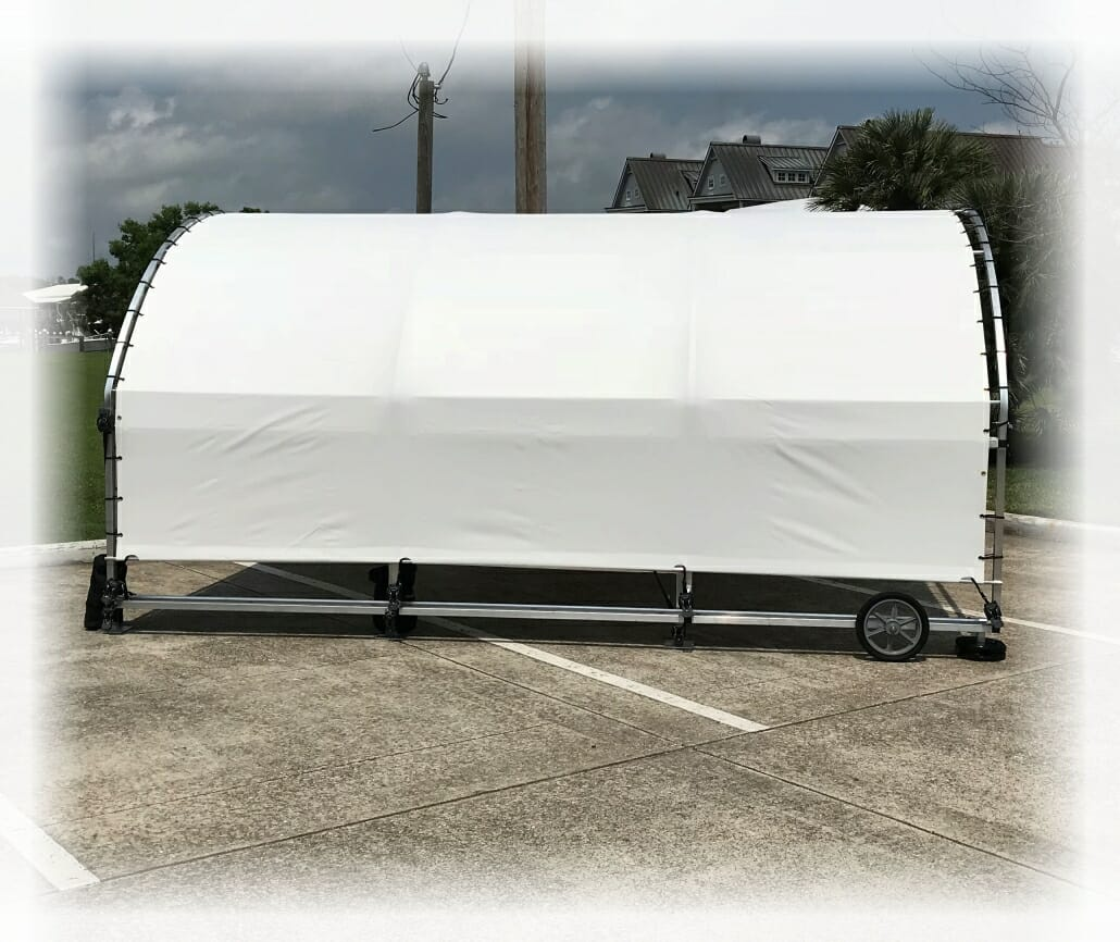 SlipSki Motorcycle Shelter - SlipSki Boating Solutions