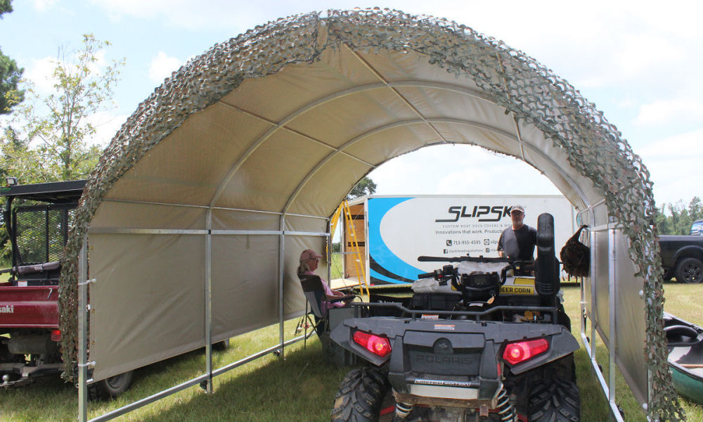Top Portable Car Canopy Benefits And Unique Uses For Them | The Hunters Hut | SlipSki Solutions