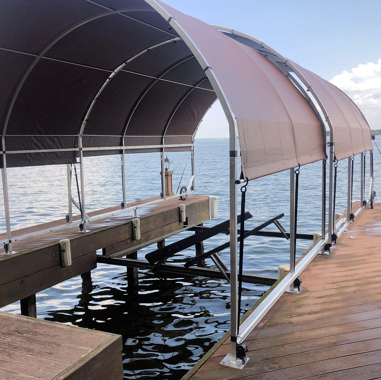 Boat Dock Covers by SlipSki Solutions