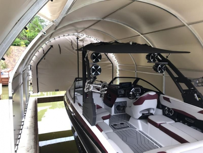 The Gull Wing | SlipSki Boat Dock Covers