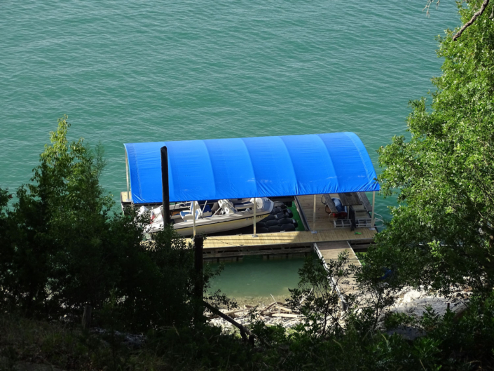SlipSki Malibu Boat Dock Cover