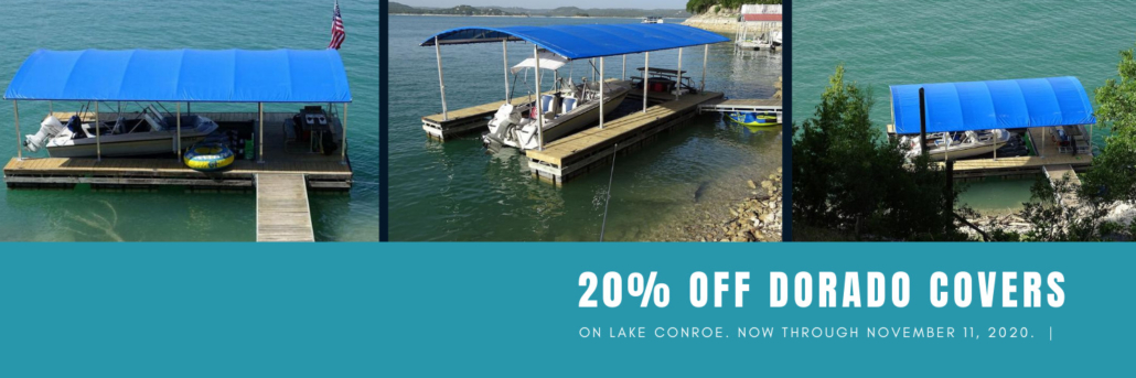 20% Off Boat Dock Awnings