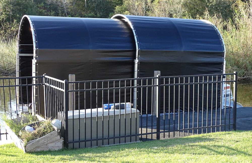 Jet Dock Cover | Floating Boat Dock Covers