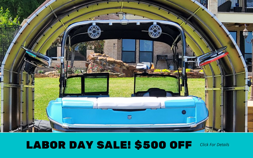 Boat Dock Cover Labor Day Sale